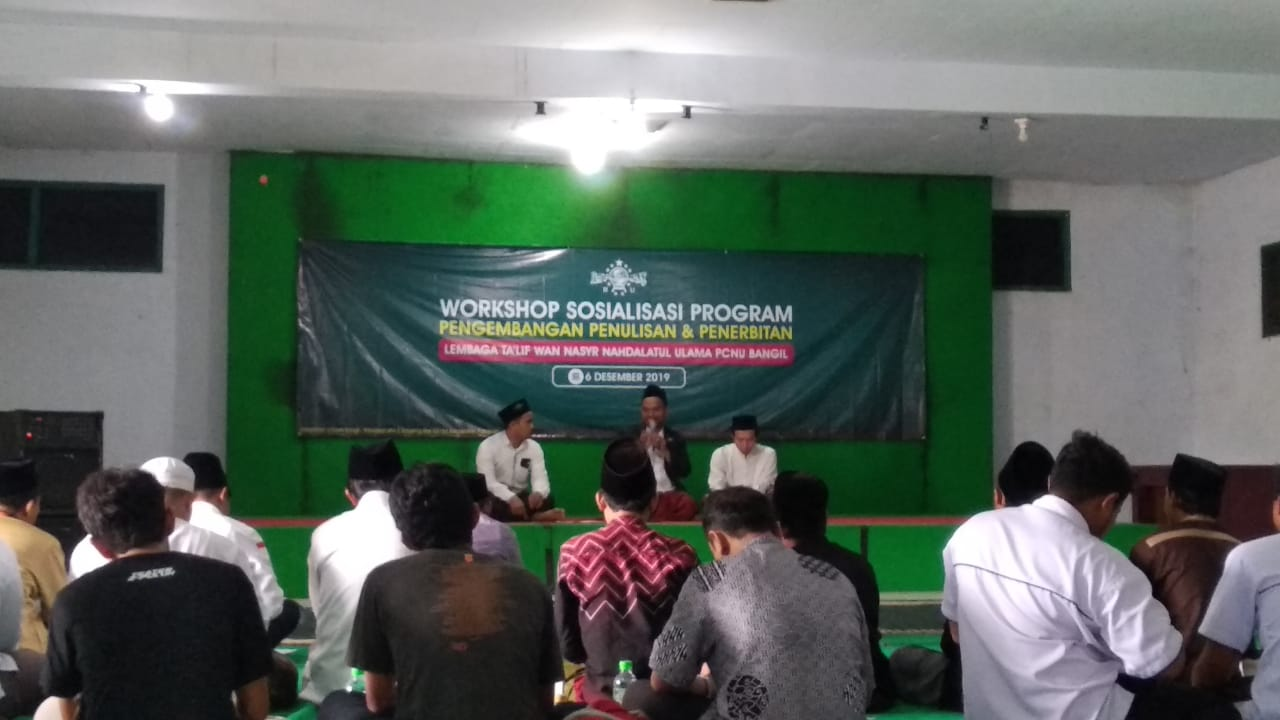 Photo of Optimalkan Peran di Medsos, LTNNU Bangil Gelar Sosialisasi Program