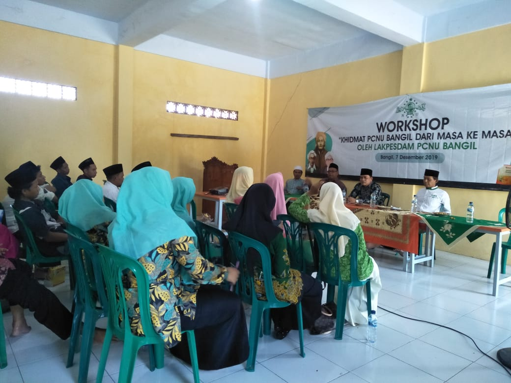 Photo of Gelar Workshop, Lakpesdam Bangil Galih Sejarah Perjuangan Kiai Bangil